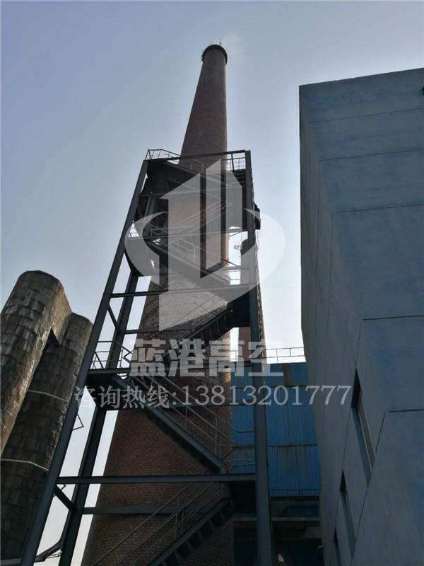 烟囱安装折梯平台