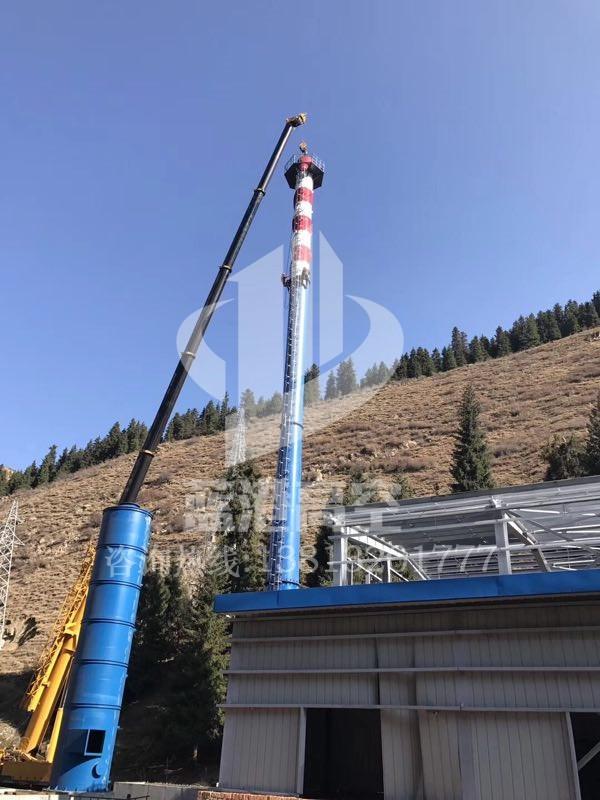 钢烟囱安装工程
